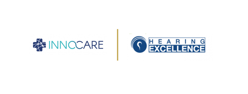 Innocare and Hearing Excellence Logos