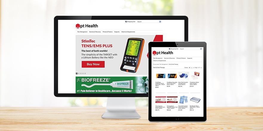 Health online store